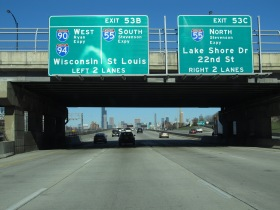 Chicago Road Signs
