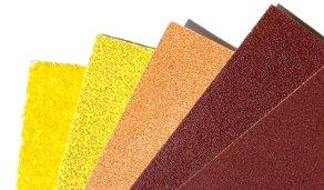 Sandpaper varieties